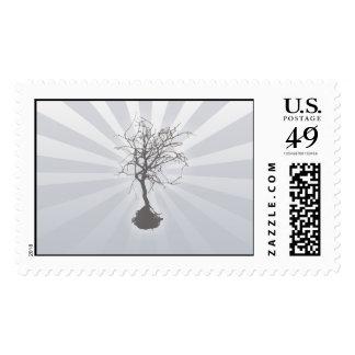 Zen Like Postage Stamp