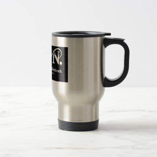 Zen logo black coffee mugs
