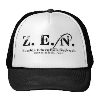 zen logo Trucker Trucker Hat