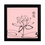 Zen Lotus Flower Jewelry Box