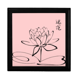 Zen Lotus Flower Jewelry Box
