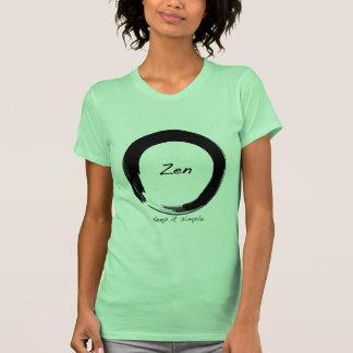 Zen: Manténgalo simple Camisetas