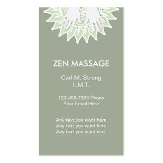 Zen Massage Business Cards
