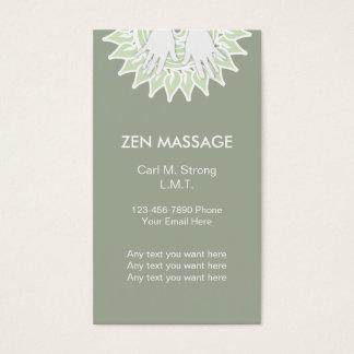 Zen symbol business cards templates zazzle zen massage business cards stopboris Gallery