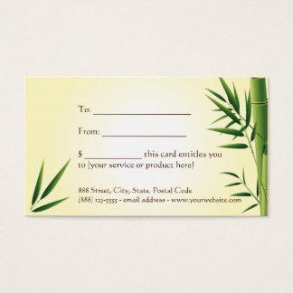 Zen Massage ı Gift card