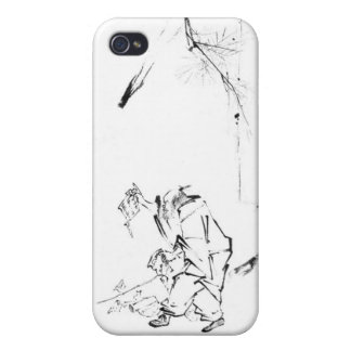 Zen meditation phone cover for iPhone 4
