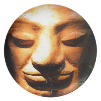 Zen Melamine Plate