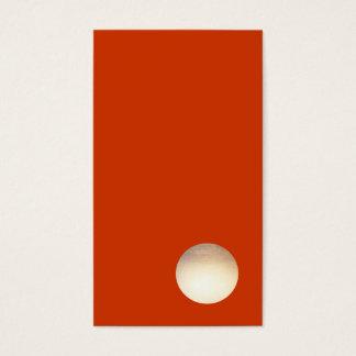 Zen Minimalist Faux Gold Foil Circle Cool Creative Business Card