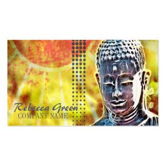 zen moderno de Buda del BALNEARIO elegante del Tarjetas De Negocios