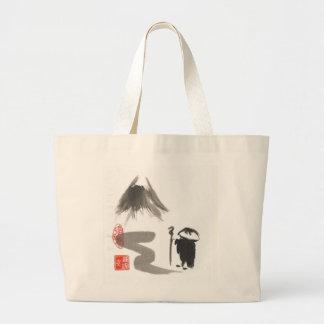 Zen Monk on Journey Bag