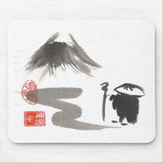 Zen Monk on Journey Mousepads