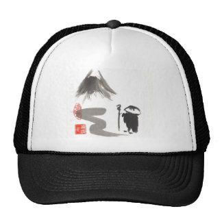 Zen Monk on Journey Trucker Hat