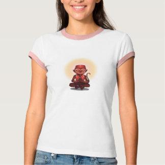 Zen Monkey Custom Text T-Shirt