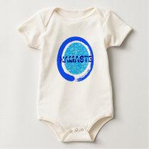 Zen Namaste - Baby Yoga Clothing (organic) Baby Bodysuit