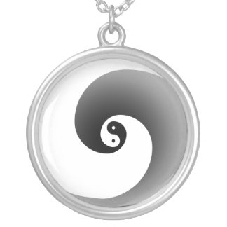 Zen Neck Silver Plated Necklace