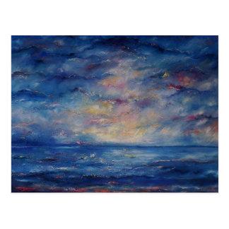 Zen Ocean Postcard