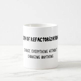 Zen of Refactorization Classic White Coffee Mug