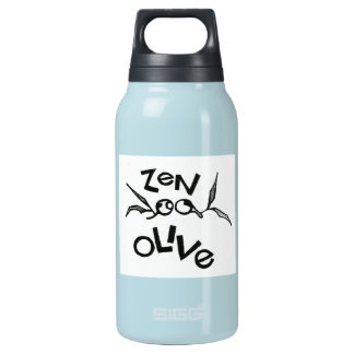 Zen Olive Insulated Water Bottle