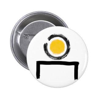 Zen On My Desk Logo Pins