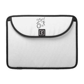 Zen Out Macbook Flap Sleeve