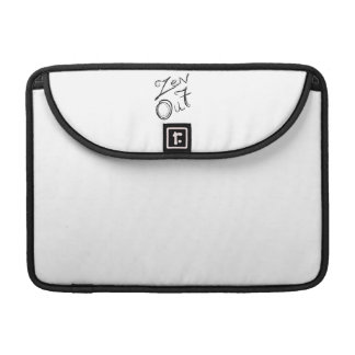 Zen Out Macbook Flap Sleeve Sleeves For MacBooks