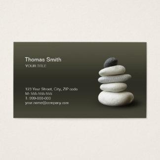 Zen Pebbles Balance business card