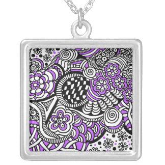 Zen Purple Necklace