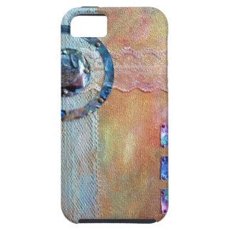 Zen Resonance - mixed media iPhone SE/5/5s Case