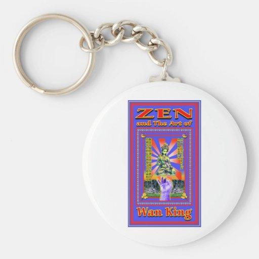 Zen Retro Hard Wok Keychains
