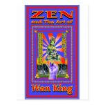 Zen Retro Hard Wok Post Cards
