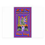 Zen Retro Hard Wok Postcards