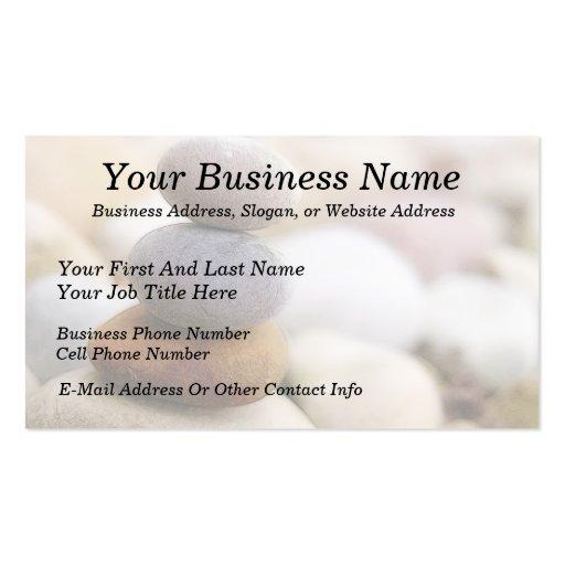 Zen rock garden business card zazzle for Zen business cards