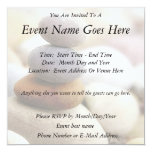 Zen Rock Garden 5.25x5.25 Square Paper Invitation Card