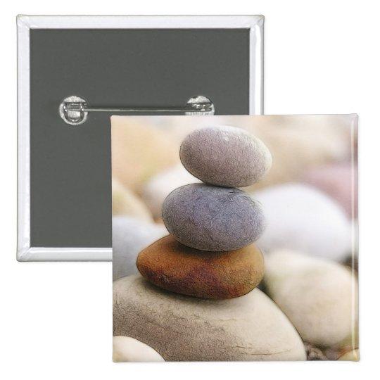 Zen Rock Garden Pinback Button