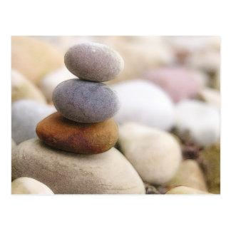 Zen Rock Garden Postcard