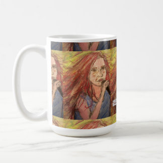 Zen Rocker Girl art Coffee Mug