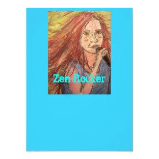 Zen Rocker Girl Card
