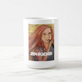 Zen Rocker Girl Coffee Mug