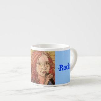 Zen Rocker Girl Espresso Cup