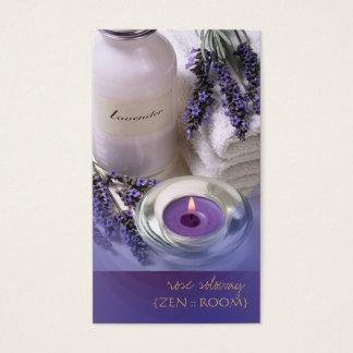 Zen room/Lavender business cards