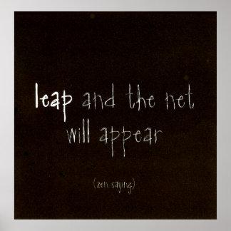 Zen Saying Poster
