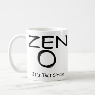 Zen Simplicity Coffee Mug