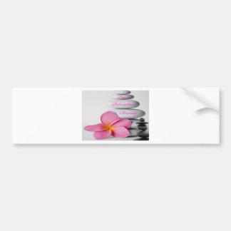 Zen Spa Nature Bumper Sticker