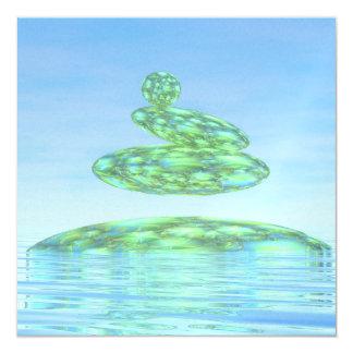 Zen stones - 3D render Card