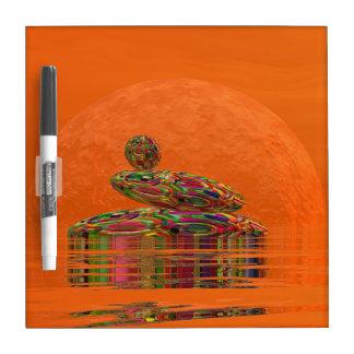 Zen stones - 3D render Dry-Erase Board