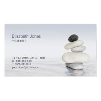 Zen Stones Balance business card