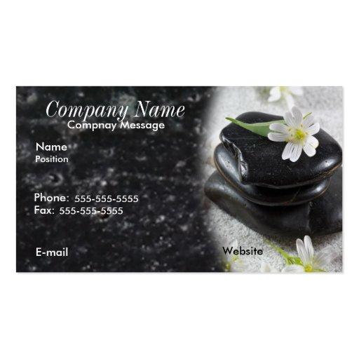 Zen stones business card zazzle for Zen business cards