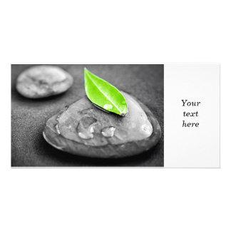 Zen stones card