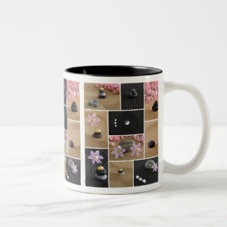 Zen Stones Collage Coffee Mugs