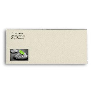 Zen stones envelope